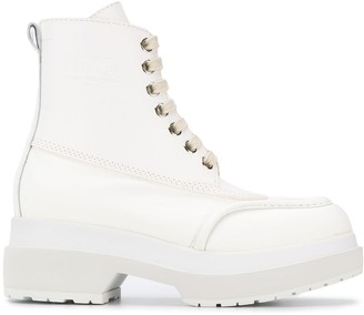 MM6 MAISON MARGIELA Chunky Lace-Up Boots