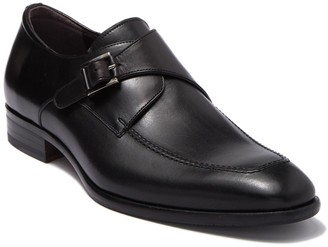 Mezlan Leather Monk Strap Loafer
