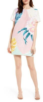 MinkPink Collage Shift Dress