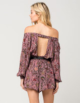 Free People Pretty And Free Womens Romper