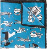 Dolce & Gabbana musician print scarf - men - Silk - One Size