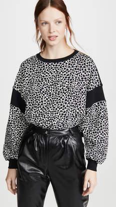 Philosophy di Lorenzo Serafini Leopard Sweatshirt