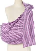 Plum Honeycomb Ring Sling