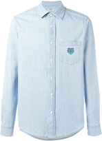 Kenzo Mini Tiger denim shirt - men - Cotton - L