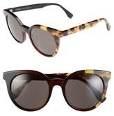 Fendi Women's 51Mm Sunglasses - Black Olive Havana