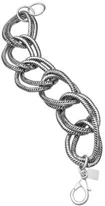 John Wind Maximal Art Silver Grande-Link Bracelet