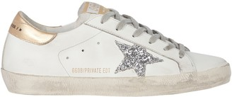 Golden Goose Superstar Low-Top Leather Sneakers
