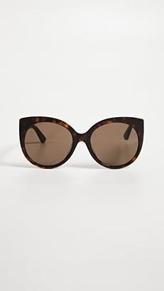 Gucci GG Cat Eye Sunglasses