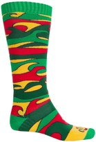 Hot Chillys Surf Midweight Ski Socks - Over the Calf (For Men)