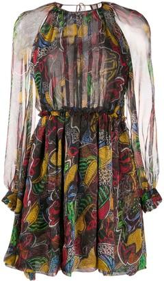 Missoni Sheer Printed Dress