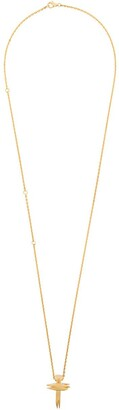 Kasun London Stick Cross Pendant Necklace