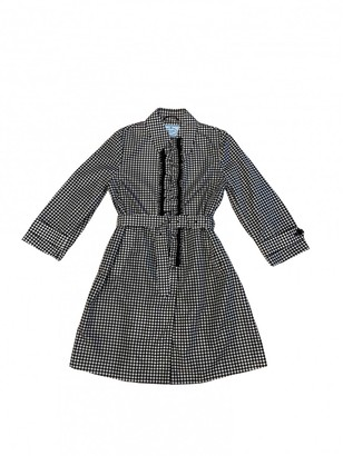 Prada Black Trench Coat for Women