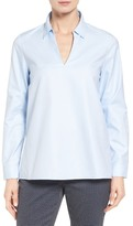 Nordstrom Popover Oxford High/Low Shirt