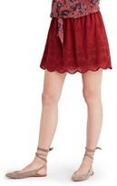 Madewell Women's Eyelet Miniskirt