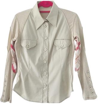 Alexander McQueen Beige Cotton Tops