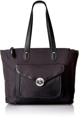 Baggallini Fairfax Laptop Tote Black Shoulder Bag Bag