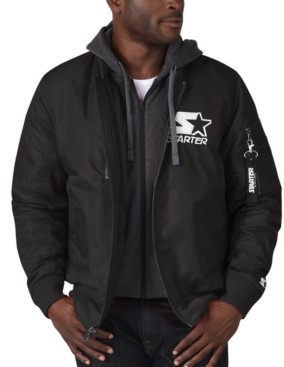 Starter Men's Aviator Logo Jacket