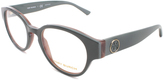 Tory Burch Olive Round Eyeglasses
