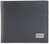 Dolce & Gabbana Grey Dauphine Leather Wallet