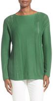 Lafayette 148 New York Bateau Neck Sweater