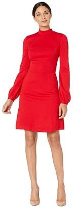 Trina Turk Indra Dress (Crimison) Women's Clothing