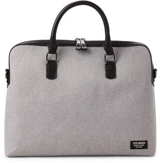 Steve Madden Light Grey Slim Laptop Messenger Bag