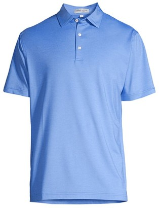 Peter Millar Solid Stretch Jersey Polo Shirt