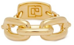 Paco Rabanne Chain-link Metal Ring - Gold