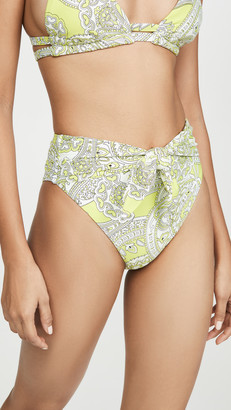 Montce Swim Paula Tie Up Bikini Bottoms
