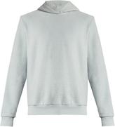 Fanmail Cotton-fleece hooded sweatshirt