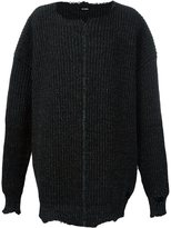 Raf Simons oversized ribbed jumper