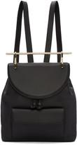 M2Malletier Black Leather Backpack