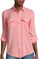 A.N.A a.n.a Roll-Tab Sleeve Shirt