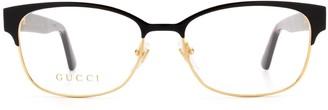 Gucci Rectangular Framed Glasses