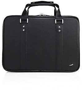 Saint Laurent Vocier Men's F25 Leather Briefcase