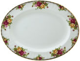 Royal Albert Old Country Roses 13 Oval Serving Platter