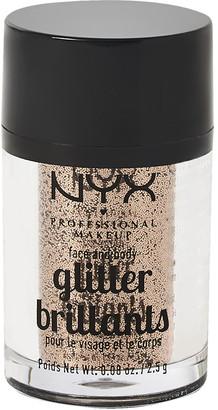 NYX Face & Body Glitter Bronze