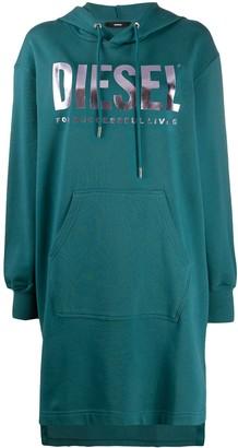 Diesel Hooded Sweatshirt Dress