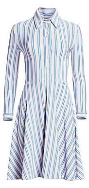 Calvin Klein Women's Striped Shirtdress