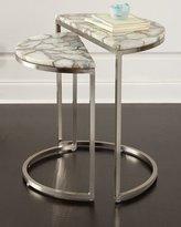Bernhardt Bellaire Stone Nesting Tables
