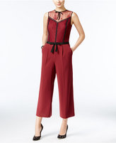 GUESS Rudy Cropped Wide-Leg Jumpsuit