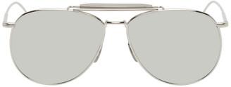 Thom Browne Silver TB015 Sunglasses