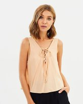 All About Eve Aster Tie Tank