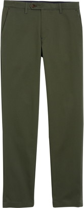 Ted Baker Slim Fit Stretch Cotton Twill Chinos