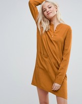Vila Dress With Button Up Detail