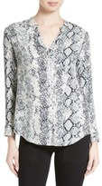 Soft Joie 'Dane' Snake Print Button Front Blouse
