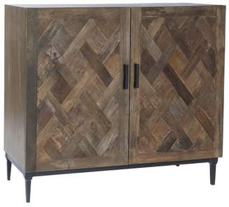Pottery Barn Parquet Two Door Buffet