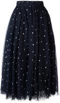 P.A.R.O.S.H. star detail tulle skirt - women - Polyamide/Polyester/Acetate/Viscose - XS