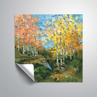 ArtWall ArtWallChanging Seasons, Removable Wall Art Mural by Anne Waters