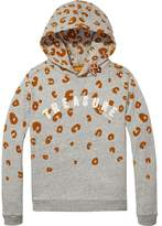 Scotch & Soda Animal Print Hoodie